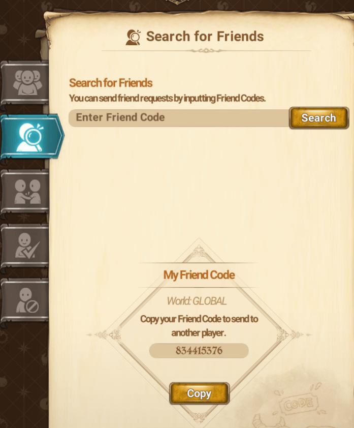 friend code The Seven Deadly Sins: Grand Cross