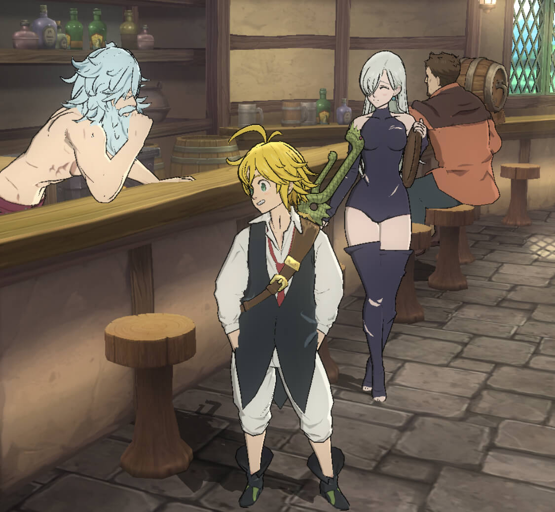 The Seven Deadly Sins: Grand Cross Tavern Guide