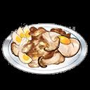Chicken Matango Tamagoyaki