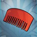 mustache comb