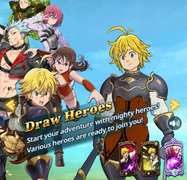 Normal Banner - Basic Hero Draws in The Seven Deadly Sins: Grand Cross