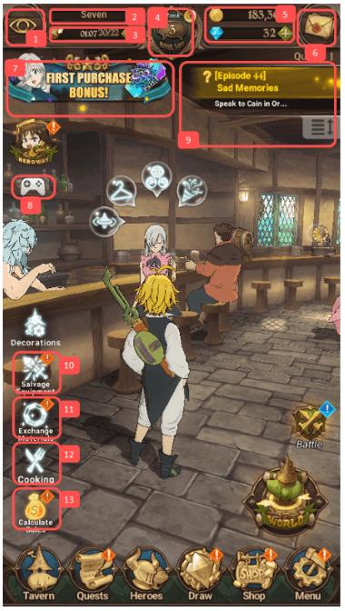 tavern control guide