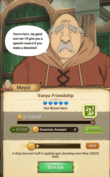 village donation