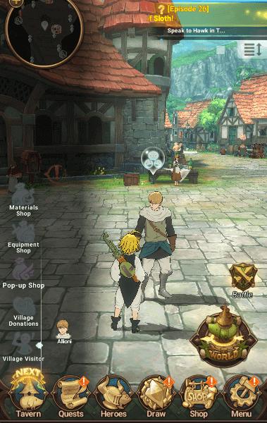 village visitor