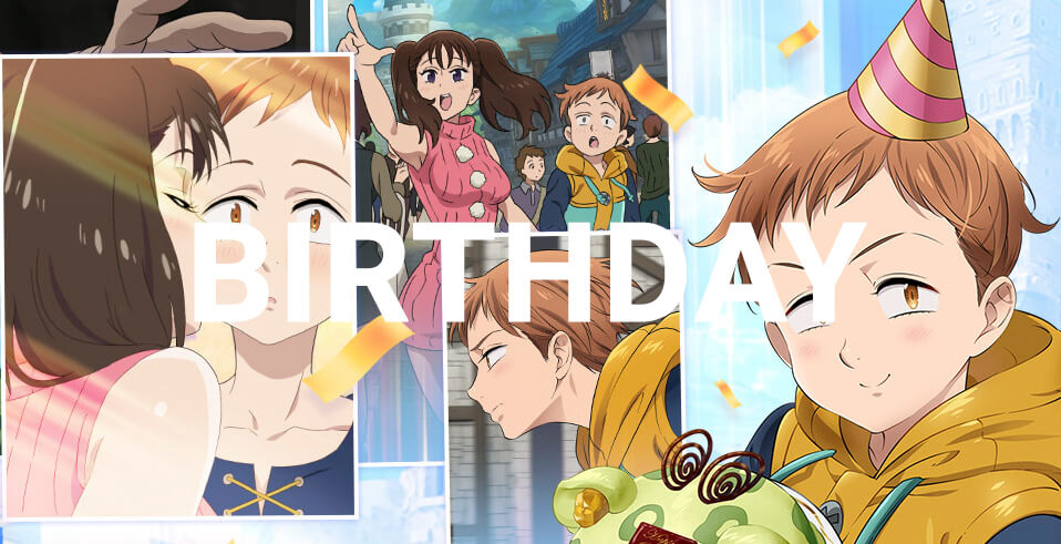 All Character Birthdays | Seven Deadly Sins: Grand Cross