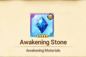 awakening stone The Seven Deadly Sins: Grand Cross
