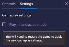 turn off landscape mode