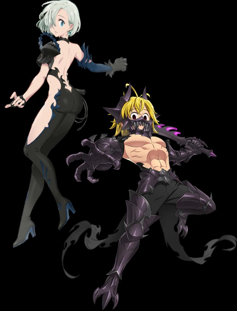 Final Boss Meliodas & Elizabeth