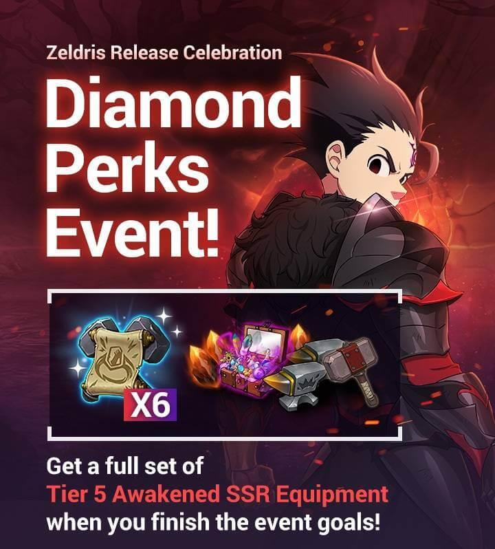Diamond Perks Event