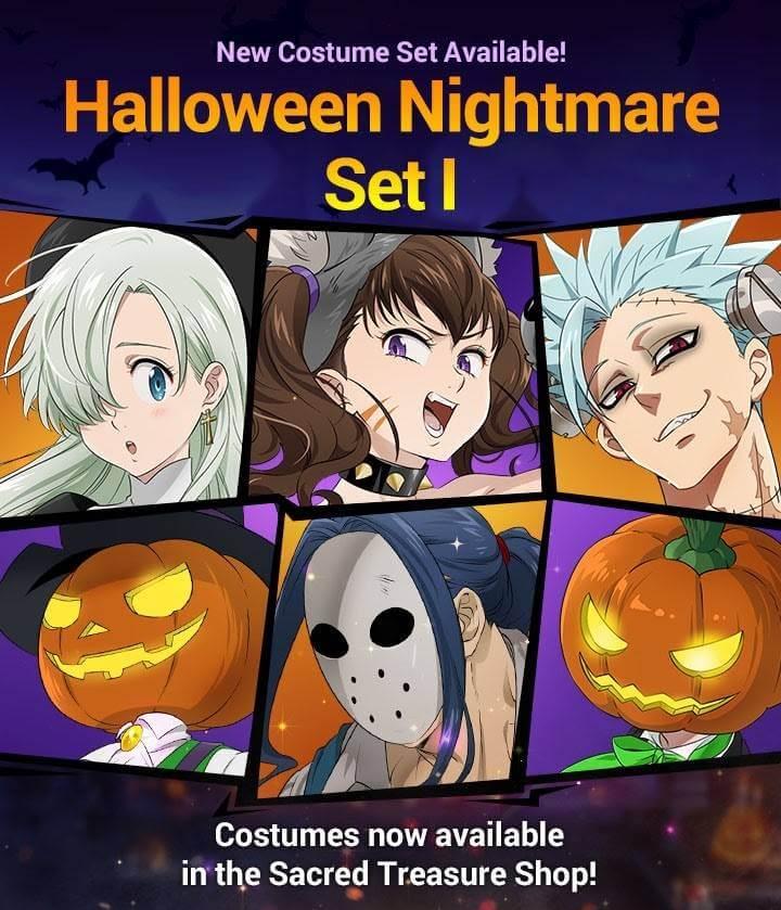 Halloween Nightmare Set