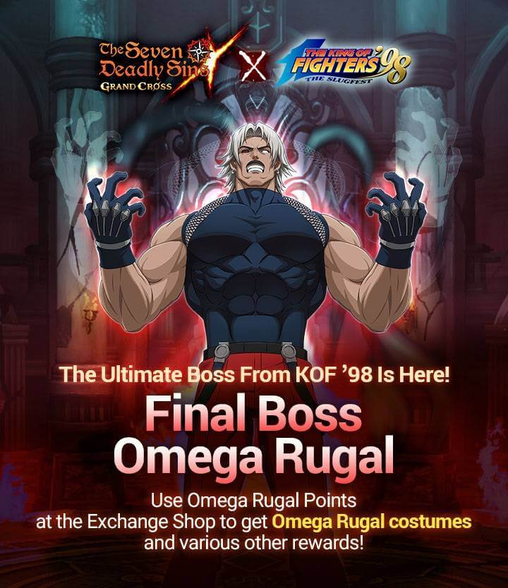 New Final Boss Omega Rugal
